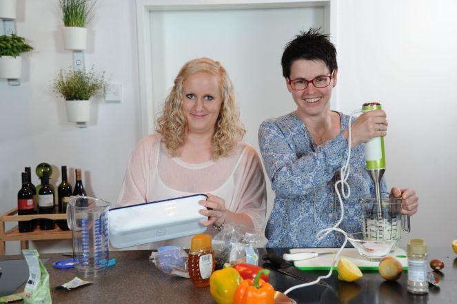 Tina Königseder und Sonja Huemer 01